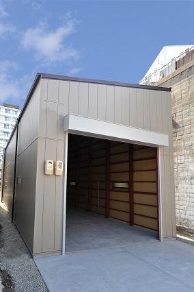 【かやのんの倉庫・工場】火災にも地震にも強い重量鉄骨造の倉庫