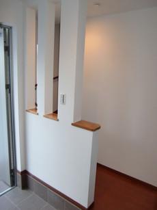玄関 スリット壁
