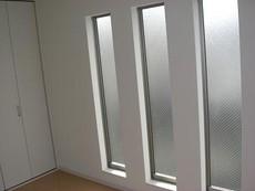 開放的な大型FIX窓