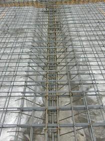 重量鉄骨造のベースとなる鉄筋コンクリートベタ基礎なので鉄筋量も凄いです!これだけ見ても安心していただけます。