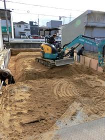 基礎工事 掘削