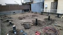 地盤改良工事 鋼管杭