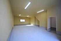 1階 スケルトン 駐車場・倉庫