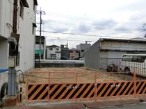 建築前の更地