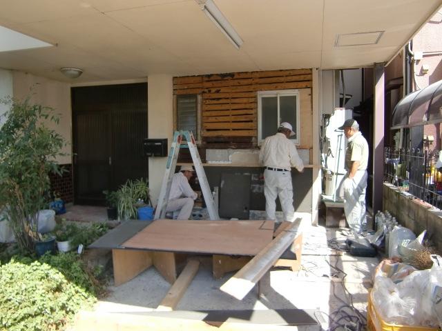 リフォーム松原市丹南 外壁修繕工事