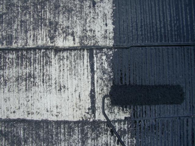 リフォーム松原市 屋根塗装工事 雨樋塗装工事 破風塗装工事