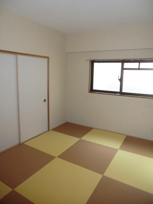 リフォーム東大阪市 シンプルモダン和室 内装リフォーム(クロス張替・壁紙張替・クッションフロアー張替)