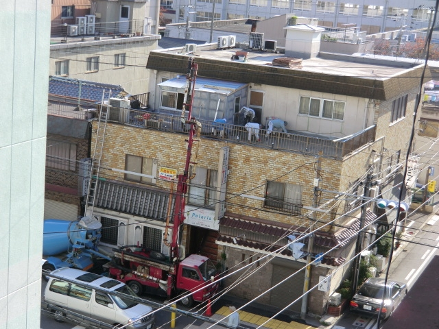 雨漏り修繕堺市堺区 シート防水+保護モルタル