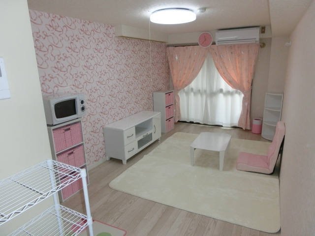 リフォーム羽曳野市 モデルルームのコーディネート 女の子の部屋編