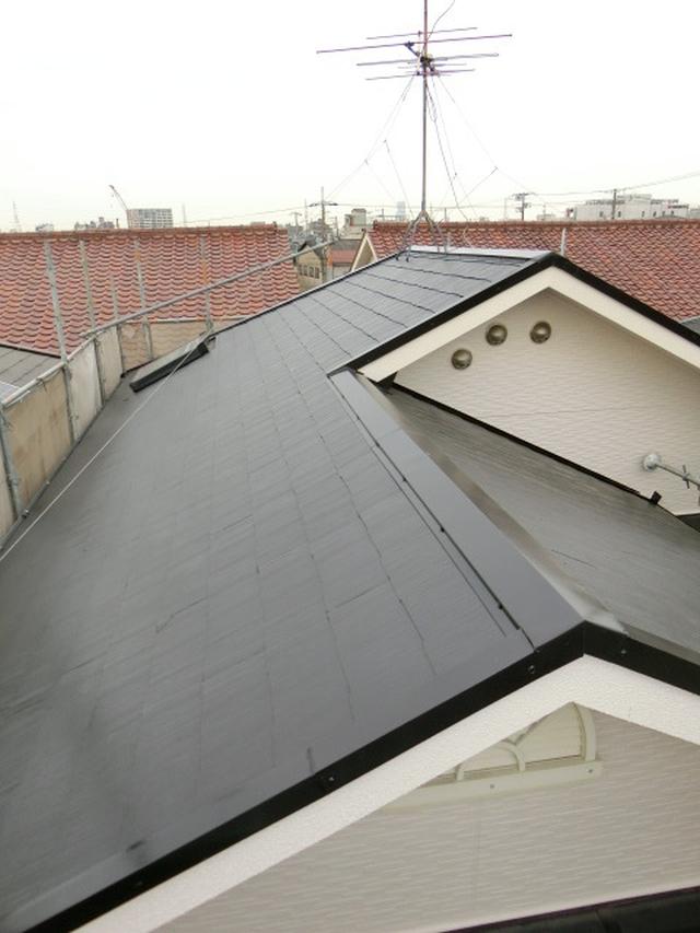 堺市堺区屋根塗装工事