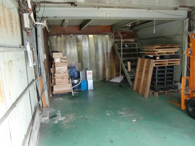 工場リフォーム大阪市城東区 印刷工場内装リフォーム アルミサッシ設置