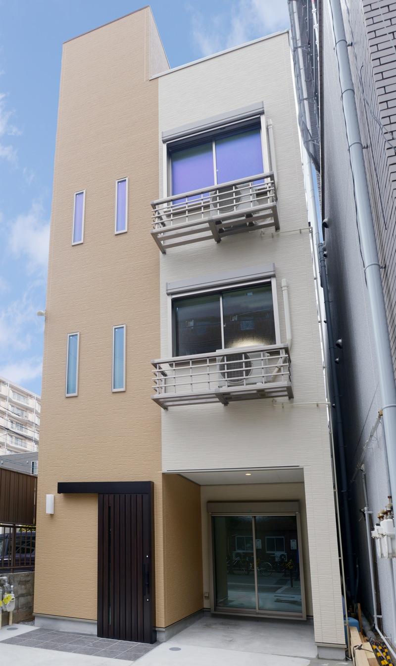 三世帯住宅もお任せ!狭小地にもしっかり対応した設計力